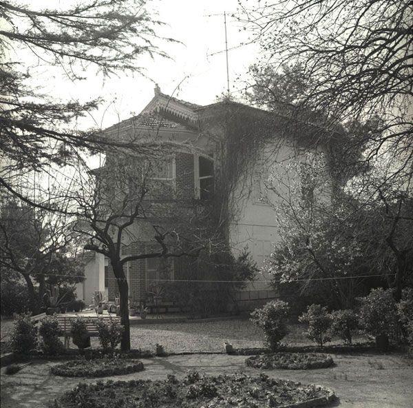 The Balladur House of Bornova, first owner Zipcy, then Mattheys, Balladur and then de Andria, as seen in the 1970s.