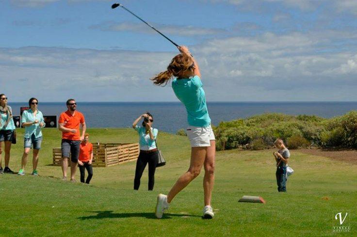 Verónica Mengod en la Salme´s Cup. Estilazo. La sexta edición del torneo benéfico de golf Salme's Cup tuvo lugar este fin de semana en Vincci Selección Buenavista Gol&Spa 5* y en el campo de golf Buenavista! #Tenerife.