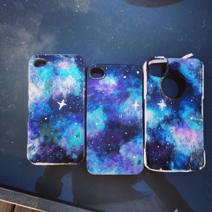 Marble Nail Polish Phone Case: All U Need Is Nail Polish And A Phone Case