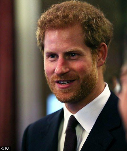 Harry acknowledged he is rapidly approaching middle age tonight as he joined the Queen to ...