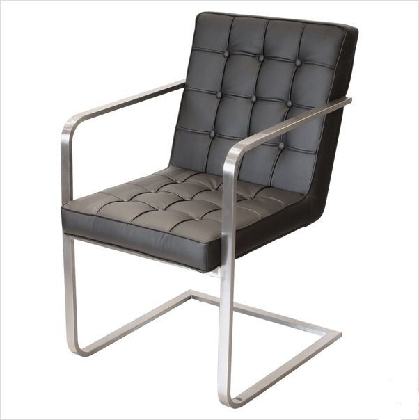 Bent Steel Frame and Black Faux Leather dining chair in contemporary style90 best Capital Dining chairs   Soft Seating images on Pinterest  . Purple Leather Dining Chairs Uk. Home Design Ideas
