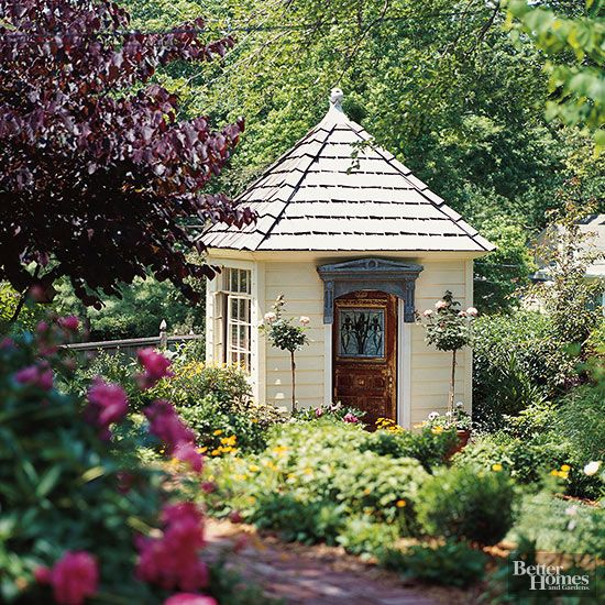 Best Garden Sheds And Greenhouses Images On Pinterest