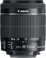 Canon - EF-S 18-55mm f/3.5-5.6 IS STM Standard Zoom Lens - Black - Larger Front