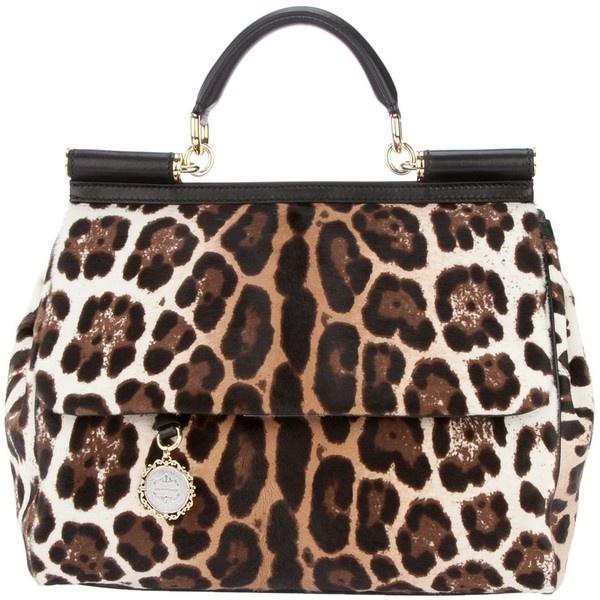 DOLCE & GABBANA Animal print bag