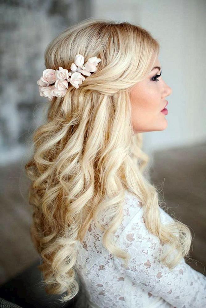 39 Best Pinterest Wedding Hairstyles Ideas Wedding Forward Romantic Wedding Hair Long Hair Styles Wedding Hairstyles For Long Hair