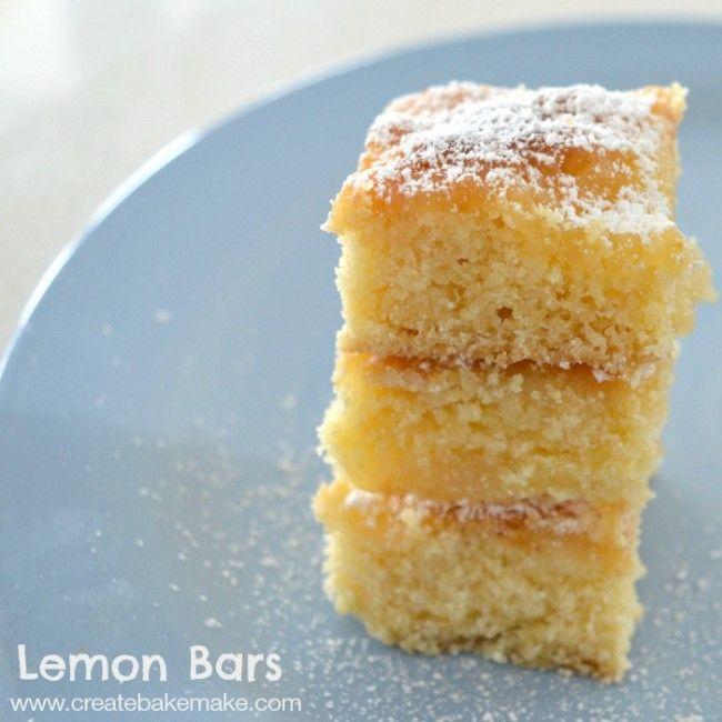 Mrs D plus 3   Thermomix Lemon bars from 'Create Bake Make'   http://www.mrsdplus3.com