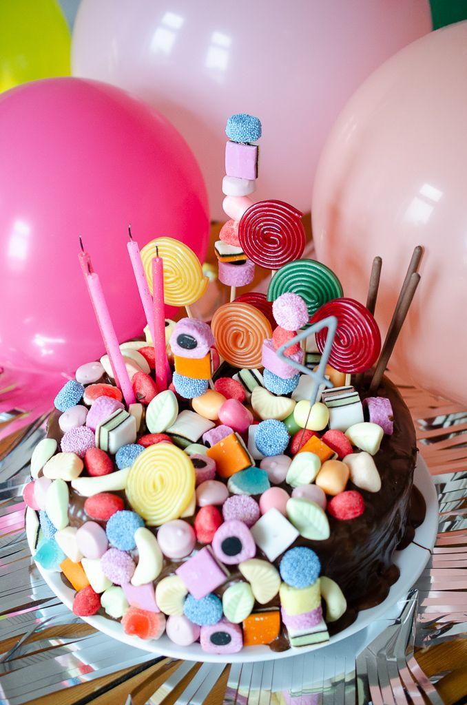 Candy Cake – schnelle Geburtstagstorte für Kinder mit WOW-Effekt   – Pinkepank Blog