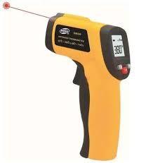 TERMOMETRO LÁSER Estos dispositivos permiten medir la temperatura de un objeto sin necesidad de contactar con él.