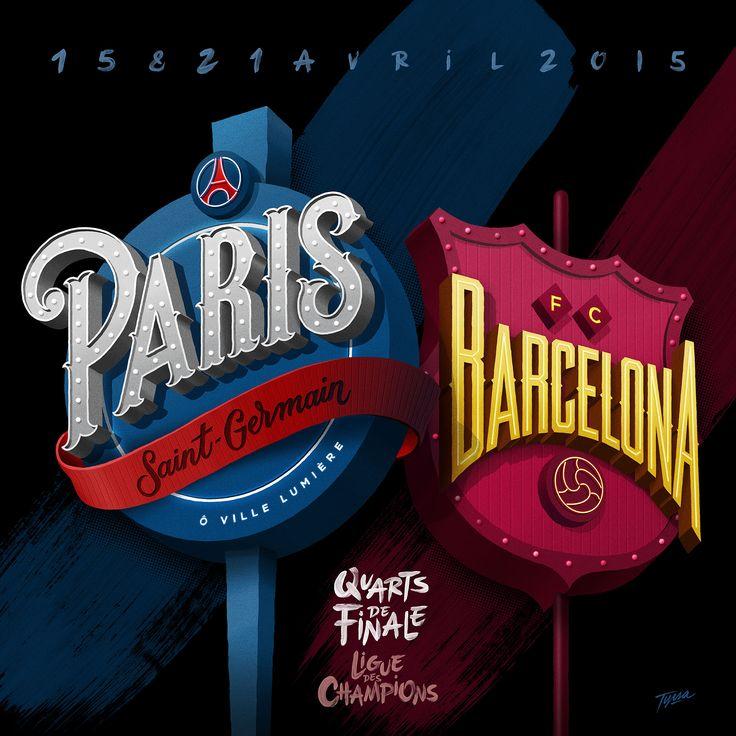 Paris Saint-Germain by Alexis Tyrsa | Agent Pekka