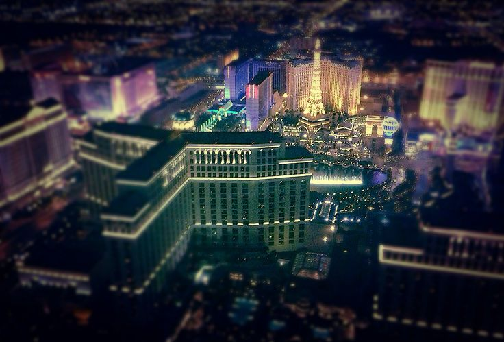 Las Vegas Strip Birdview