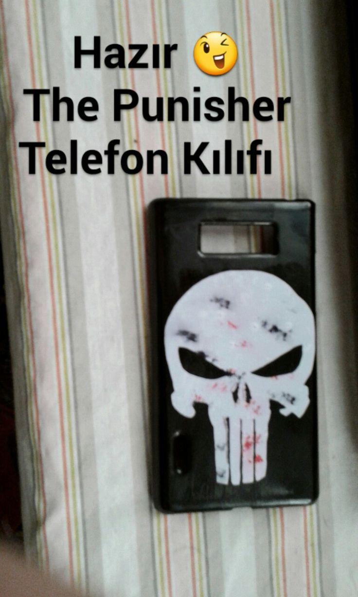 Punisher Telephone Kılıfı DIY DESİGNER ... #punisher #marvel #Telephone