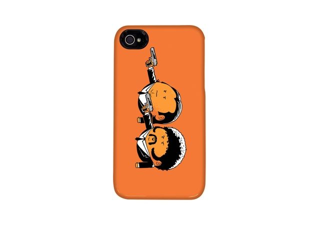 Ultimate indie icon Quentin Tarantino's PULP FICTION gets more literal (and cute) on this t-shirt and iphone case