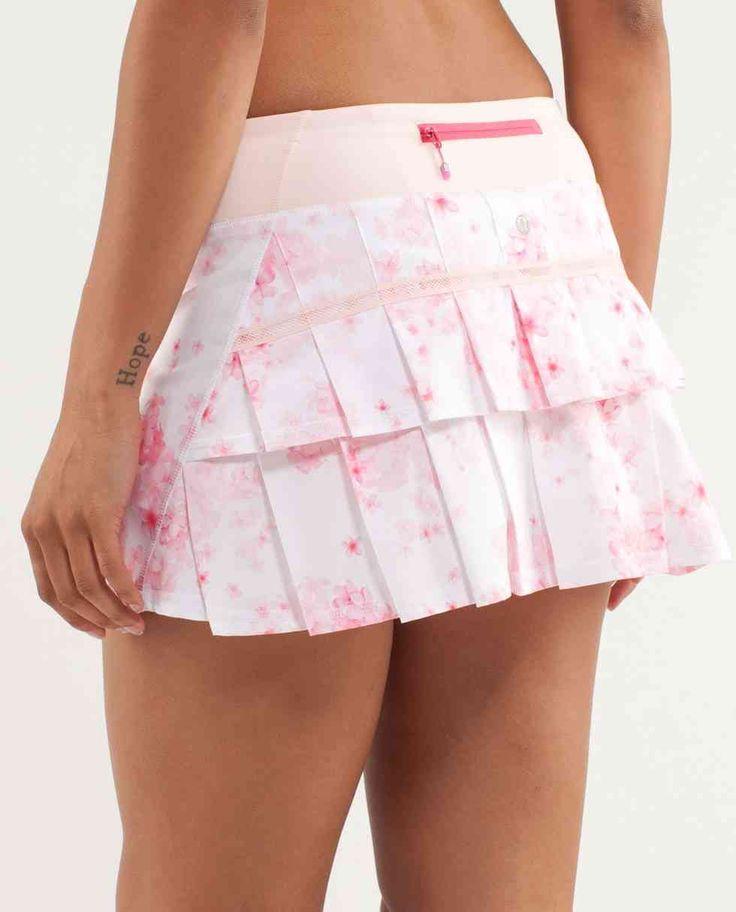 Lululemon Pacesetter Skirt ~ Frangipani Parfait Pink/Parfait ~ LOVE if I ever play tennis again...