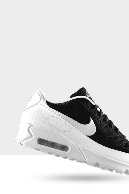 Nike Bicolore Black& White