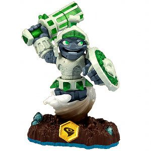 Skylanders Swap Force - Doom Stone (Swappable-Spin) [Earth] Character