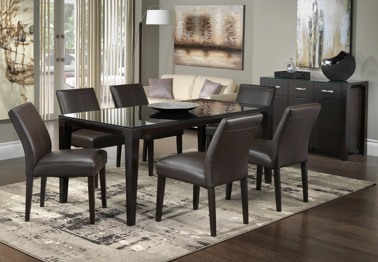 32 Stylish Dining Room Ideas To Impress Your Dinner Guests: Marceau Dining Room Collection