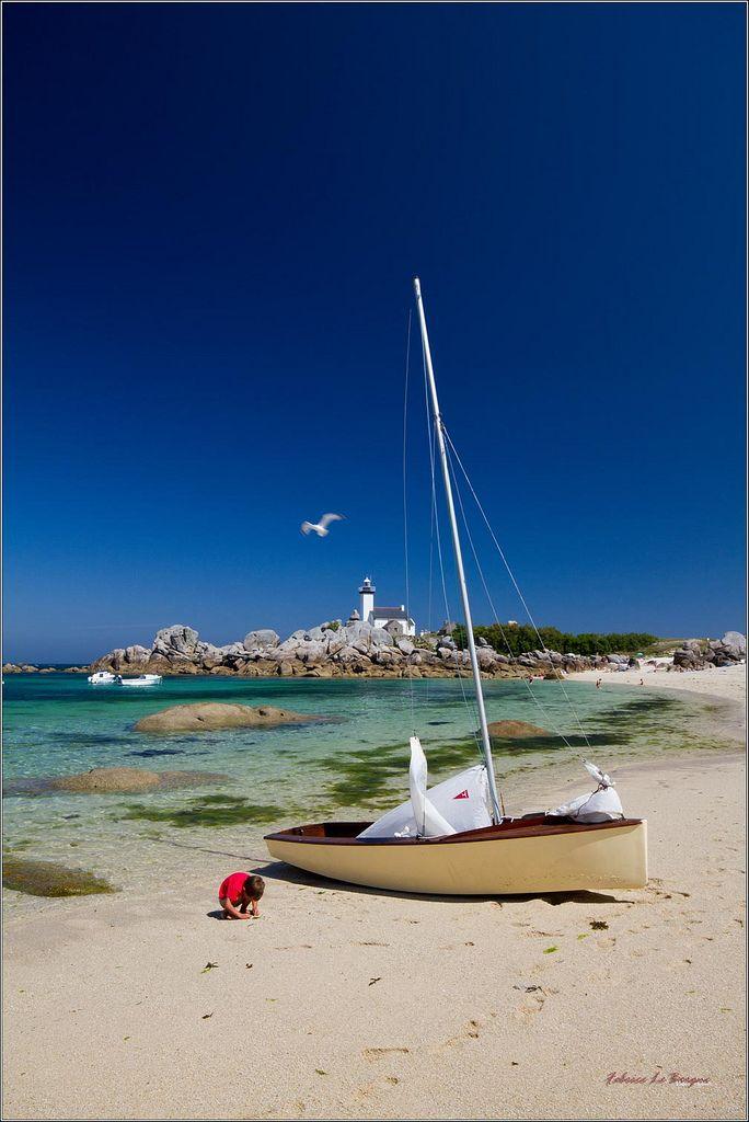 Brignogan et ses plages de rêve. Finistère, Bretagne.