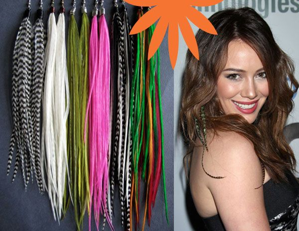 Fun feather hair extensions for your inner rock star beauty fun feather hair extensions for your inner rock star beauty pinterest rock stars feathers and hair pmusecretfo Images