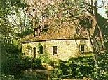 Watermill and Cottage near Sarlat, Dordogne, France