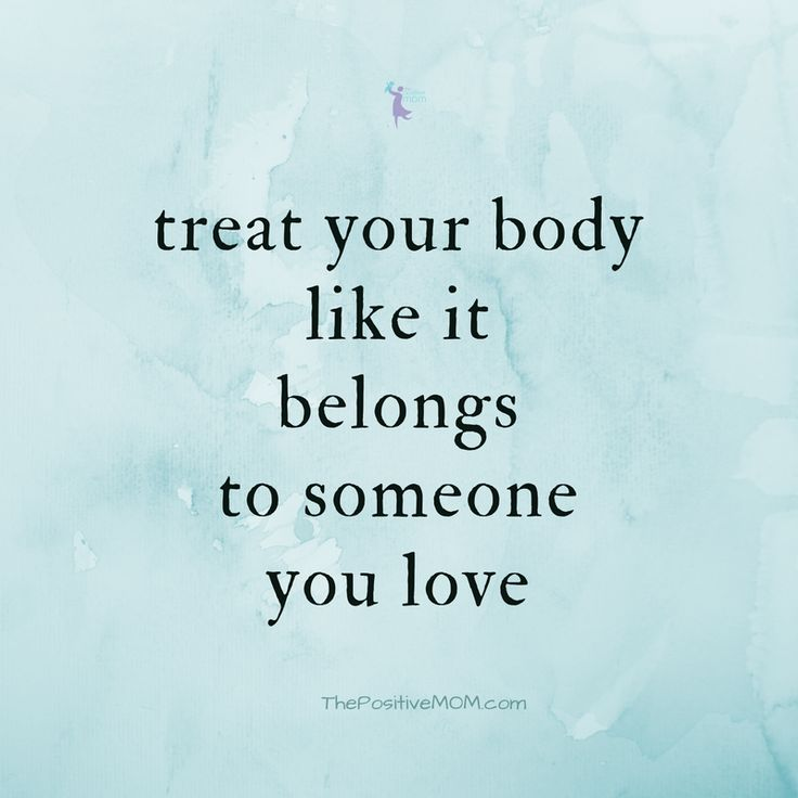 It's Time To Love Your Body Back #selfcare #healthcare @healthplanusa