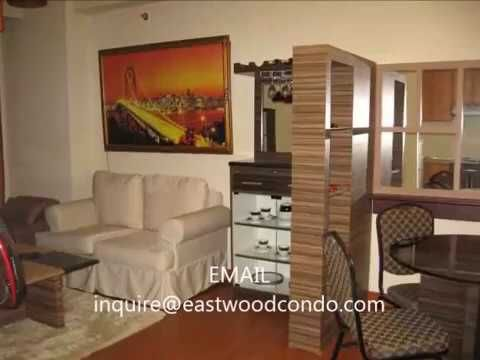 Eastwood City Condo for Rent - Fully furnished Studio Type