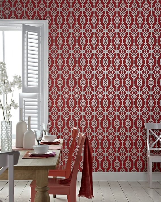 Sophie Conran For Arthouse Balustrade Spice Wallpaper