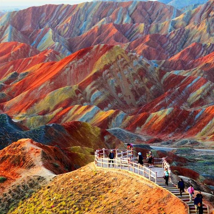 Best 20+ Zhangye Danxia Landform Ideas On Pinterest | Danxia