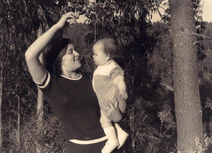 Prazeres (my aunty) & I