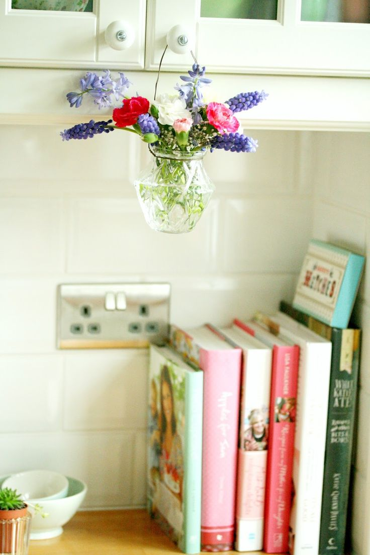 Coco Rose Diaries I pinned this for that hanging bouquet. So sweet.