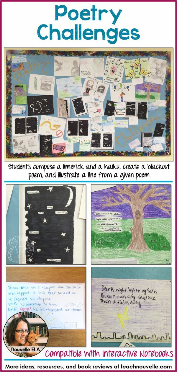letter formation poems%0A In these Poetry Challenges  students write a limerick  haiku  blackout poem   and