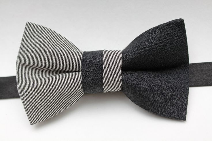 Gray  Black Bow Tie Sie inetessieren sich für den einzigartigen Gentleman Look? Schauen Sie im Blog vorbei www.thegentlemanclub.de