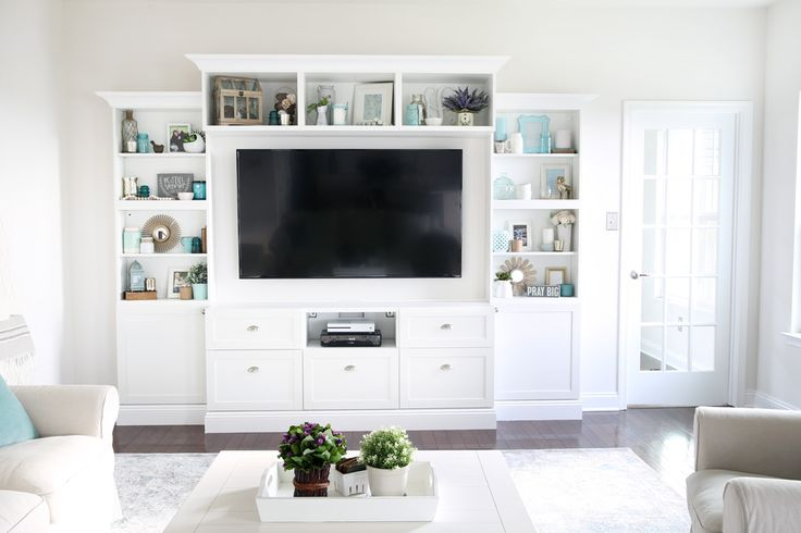 Transforming Our Living Room with IKEA BESTA Built-Ins