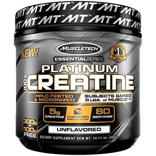 Ultra-Pure Micronized Creatine Powder, Unflavored, 14.11 Oz (400 Grams)