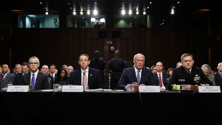 Two top intelligence officials refused to comment today on whether they had been asked by President Trump or the White House to intervene in any ongoing investigation, but said they had not felt pressured to do so.   National Security Agency Director Adm. Mike Rogers and Director of National... - #Asked, #Chiefs, #Intel, #Intervene, #TopStories, #Trump, #Wont