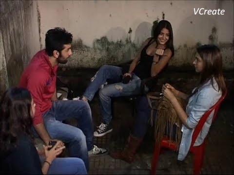 Ranbir,Deepika and Anushka Sharma at the screening of GANGS OF WASSEYPUR 2.