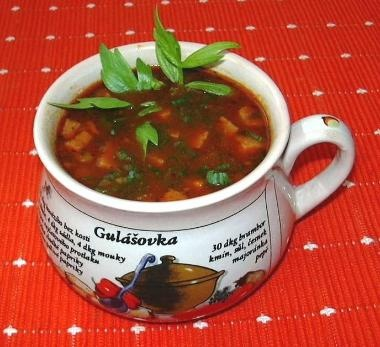 Gulášovka/Goulash soup