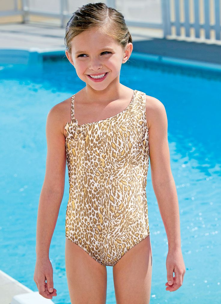 From CWDkids: Cheetah Swim Suit.