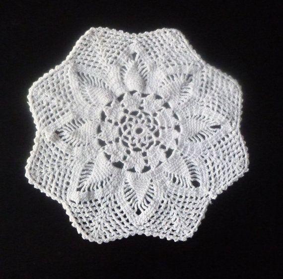 crochet doily, table decoration, center PIECE, DOILY, CROCHET