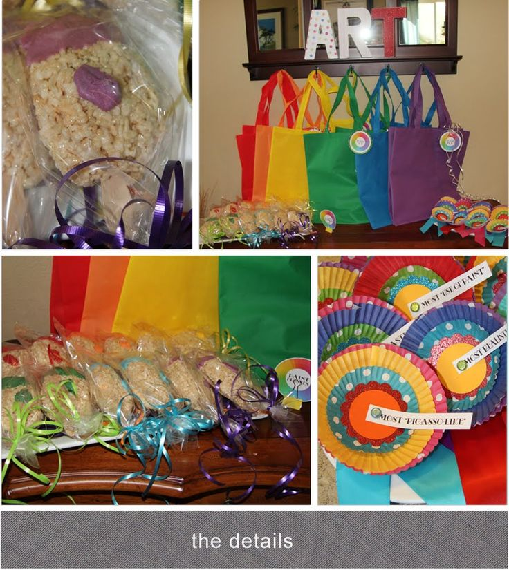 101 best art party images on pinterest birthdays crafts for Craft birthday party places