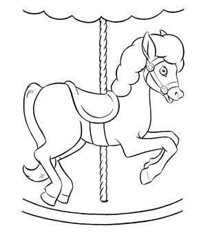 At Boyama Sayfası Oyun Ve Eğlence Horse Coloring Pages