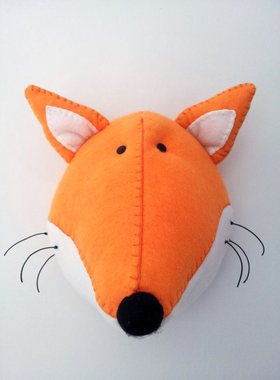 Hey, I found this really awesome Etsy listing at https://www.etsy.com/listing/129947034/fred-fox-faux-taxidermy-fabric-wall