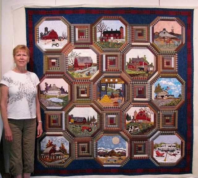 Amazing Quilts: 17 Best Images About Barn, Farm & Landscape Quilts On