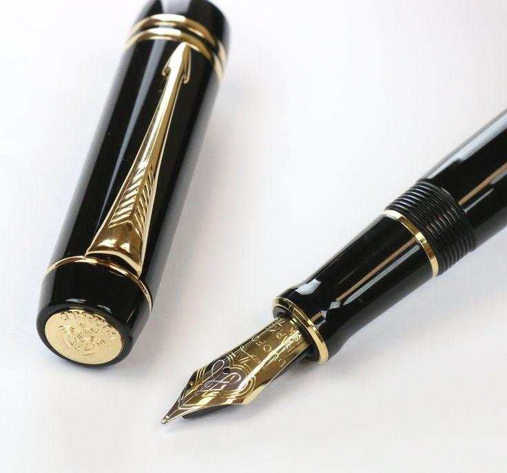 Parker Duofold Centennial Fountain Pen Nib And Cap Hp