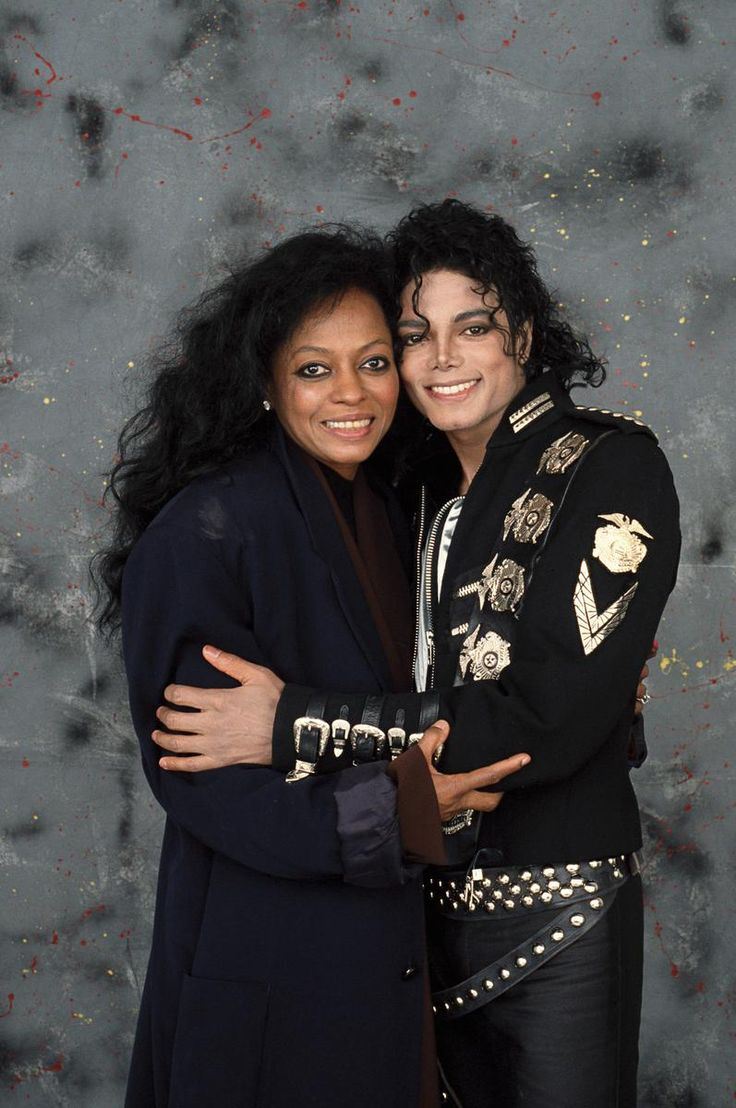 """Diana Ross & Michael Jackson: """"I 'm crazy about Michael. He's been my inspiration. He's a very gentle, wonderful human being, one of the special ones in this universe & I don't even know if he knows how special he is. I like to rub shoulders with talent. He's got good vibrations. His aura is only about love. So I like being with him."""" - Diana Ross"""