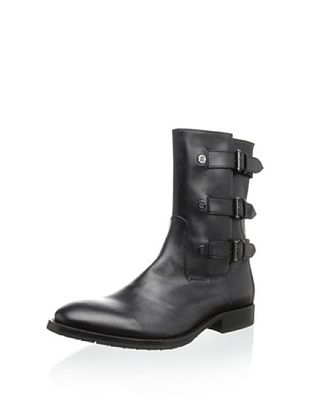 59% OFF Roberto Cavalli Men's Side Buckle Boot (Black)