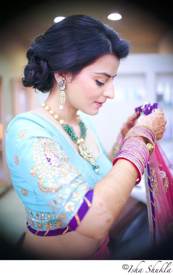 Shikha & Mihir by Isha Shukla, via Behance