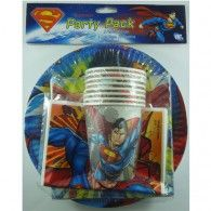 Superman Party Pack 40pc $24.95  A069988