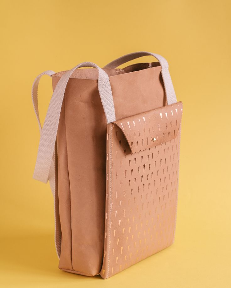 Limited edition bag for Object Future. By Georgie Cummings
