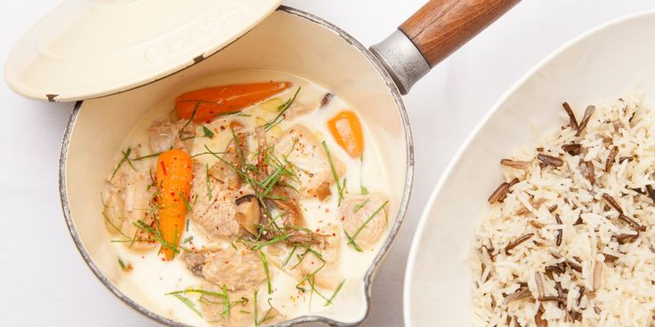 A classic blanquette de veau recipe, the French veal ragout, with veal belly from chef Eric Chavot.
