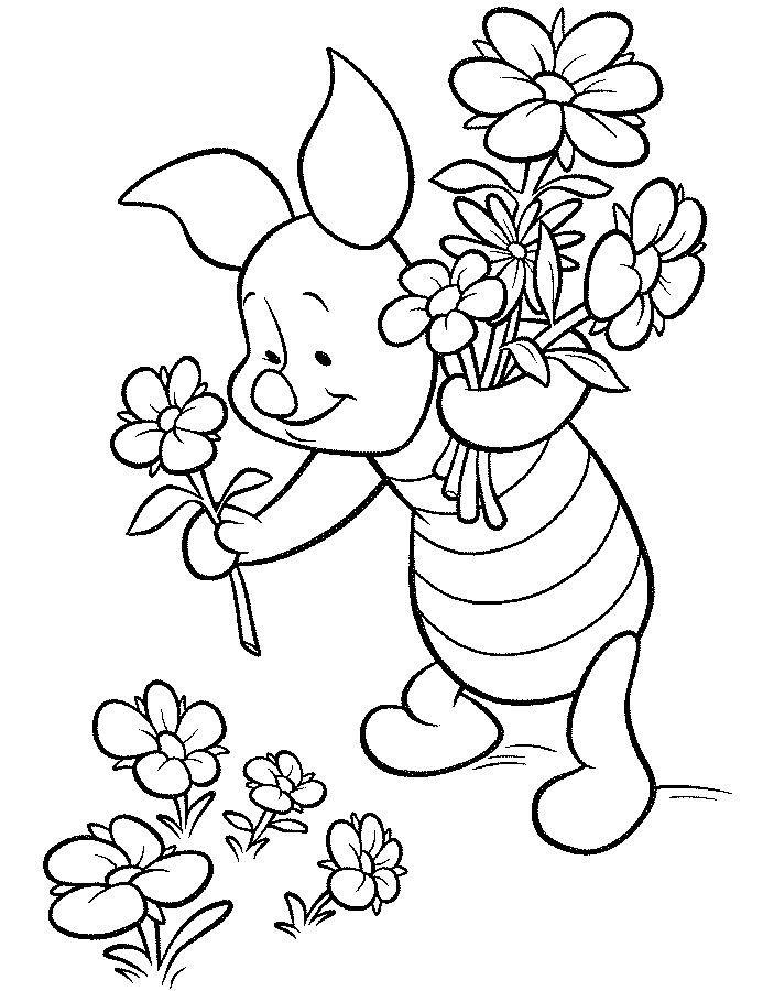 Winnie Pooh para colorear, pintar e imprimir   Para colorear   Pinterest